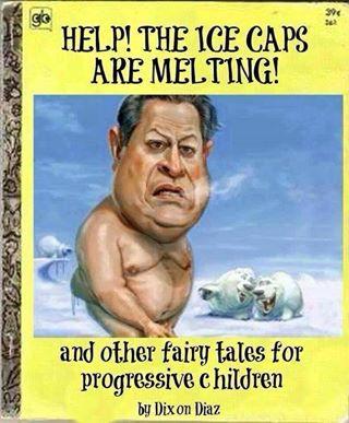Al Gore Freezing