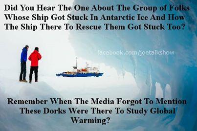 Iced Global Warmists