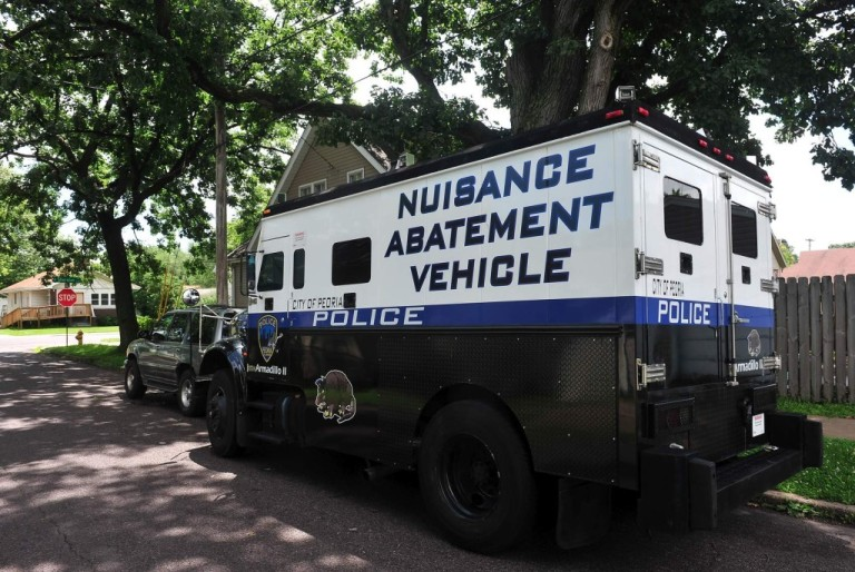 Nuisance Abatement Vehicle