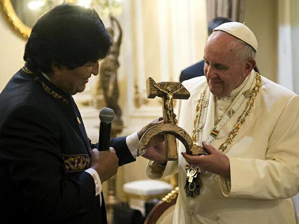 Hammer and sickle Crucifix 3