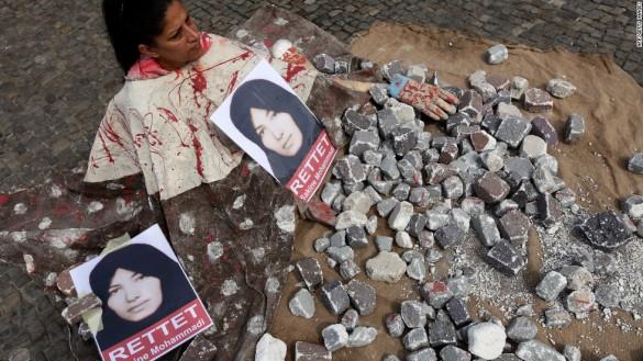 stoning of women
