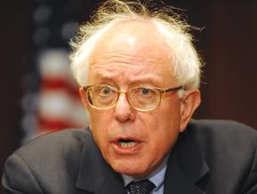 Bernie Sanders hair raising