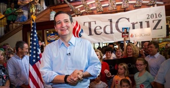 Ted Cruz Campaigning