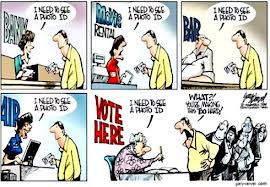 Voter ID Cartoon