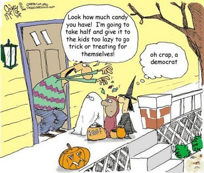 Halloween Redistribution