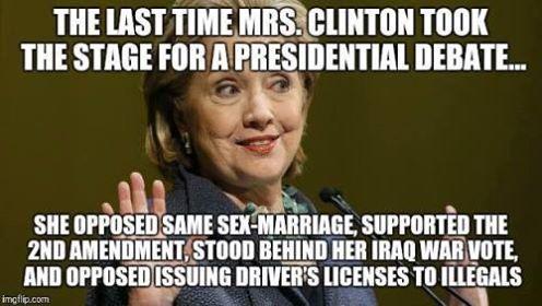 Hillary's Last run