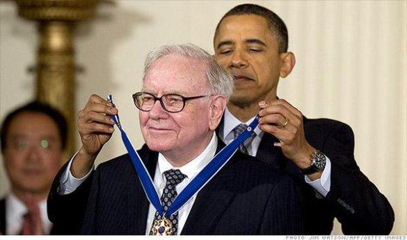 Buffett and Obama 2
