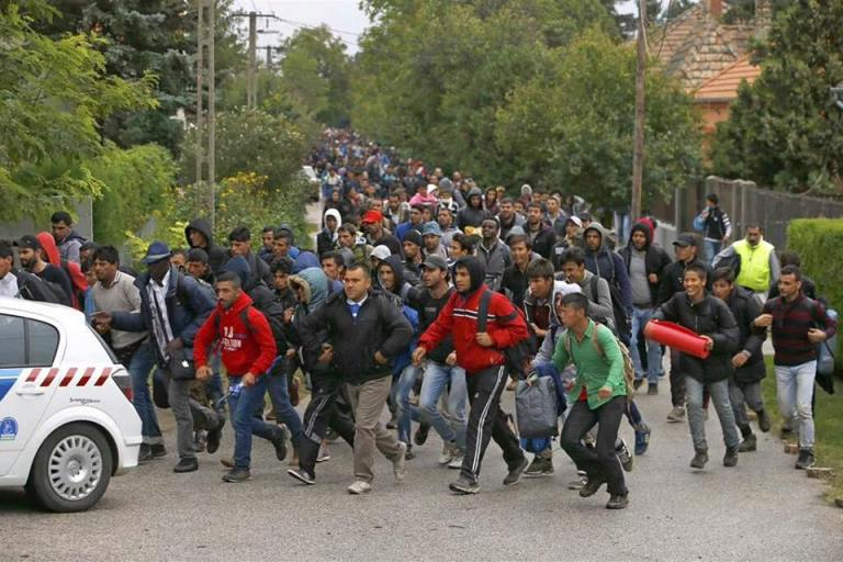 European Refugee Invasion 1