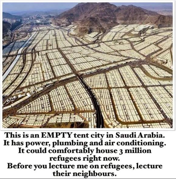 Saudi Arabia Tent City