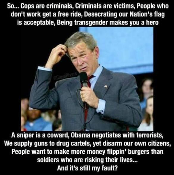 Bush's Fault