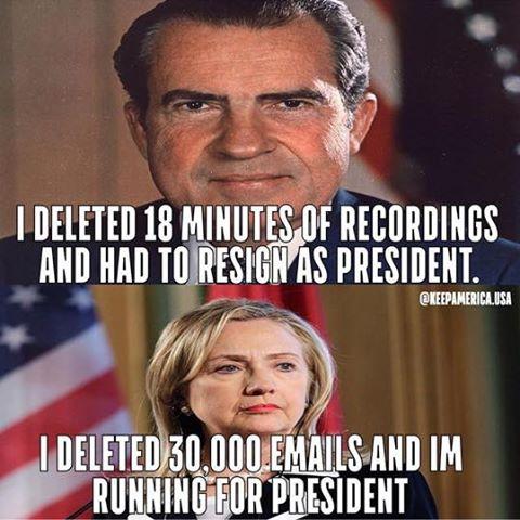 Nixon and Hillary