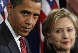 Hillary and Obama 4