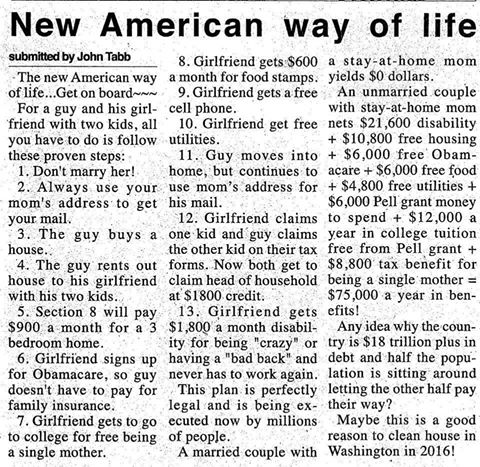 New American Way Of Life