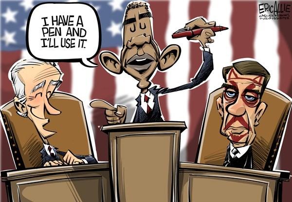 Obama Has A Pen
