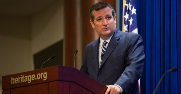 Ted Cruz at Heritage Foundation