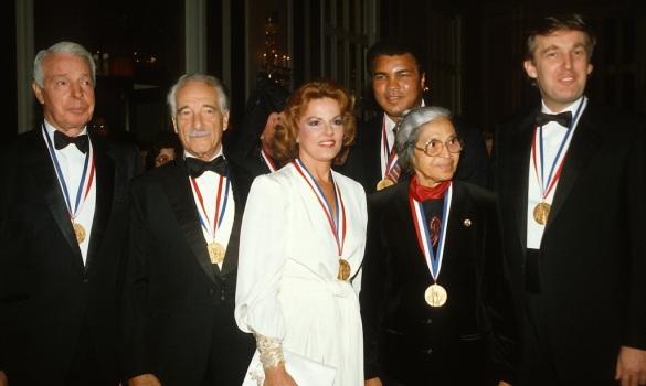 Donald Trump Receiving The Elsie Island Medal of Honor