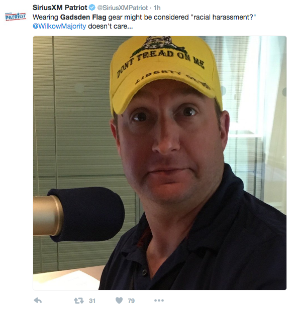 Gadsden Hat wearer