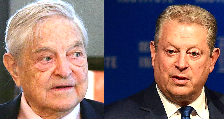 Gore and Soros
