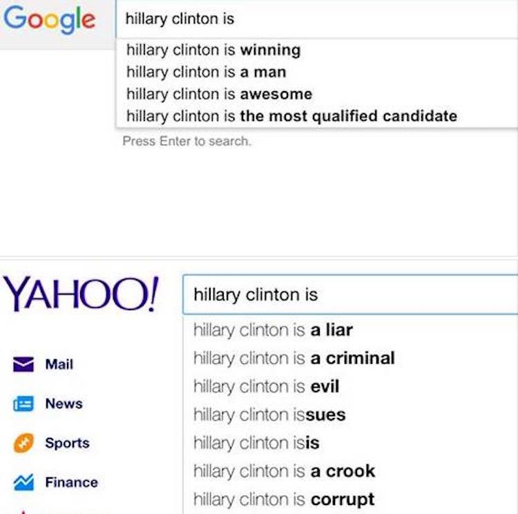 HillaryGoogle