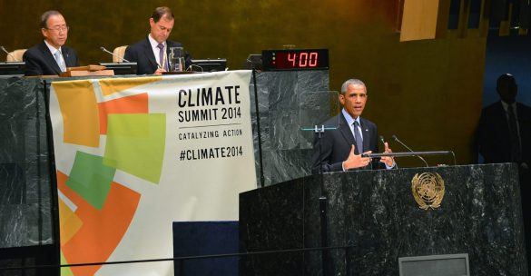 Obama at Climate Summit
